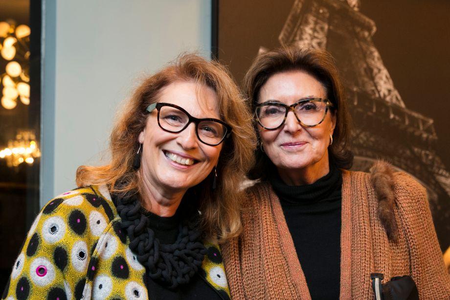 Eliana Sanches e Cristina Ferraz