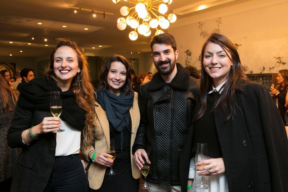 Gabrieli Azevedo, Fernanda Lins, Décio Araújo e Carolina Haddad