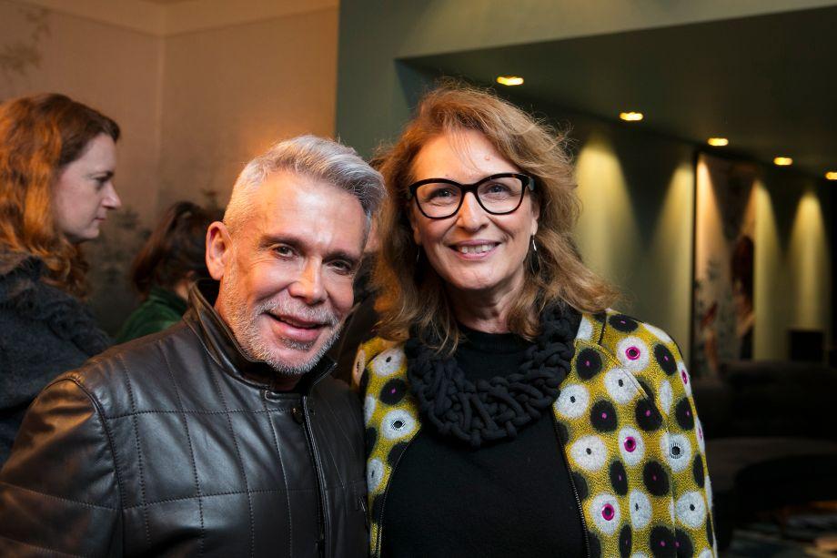 Leo Shehtman e Eliana Sanches