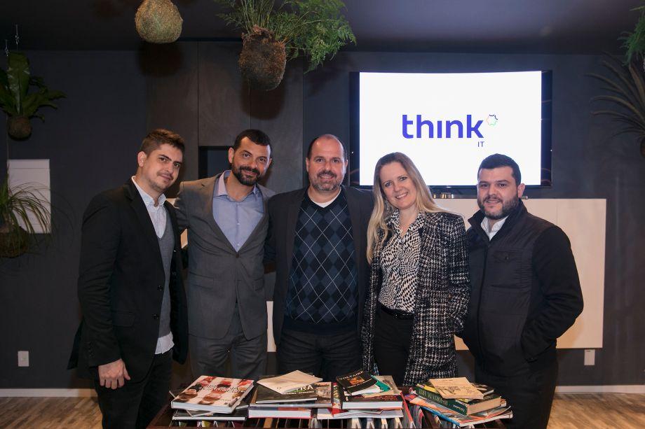 Diogo Costa, Marco Lorena, Constantino Iliadis, Renata Von Ancken e Daniel Nadalutti