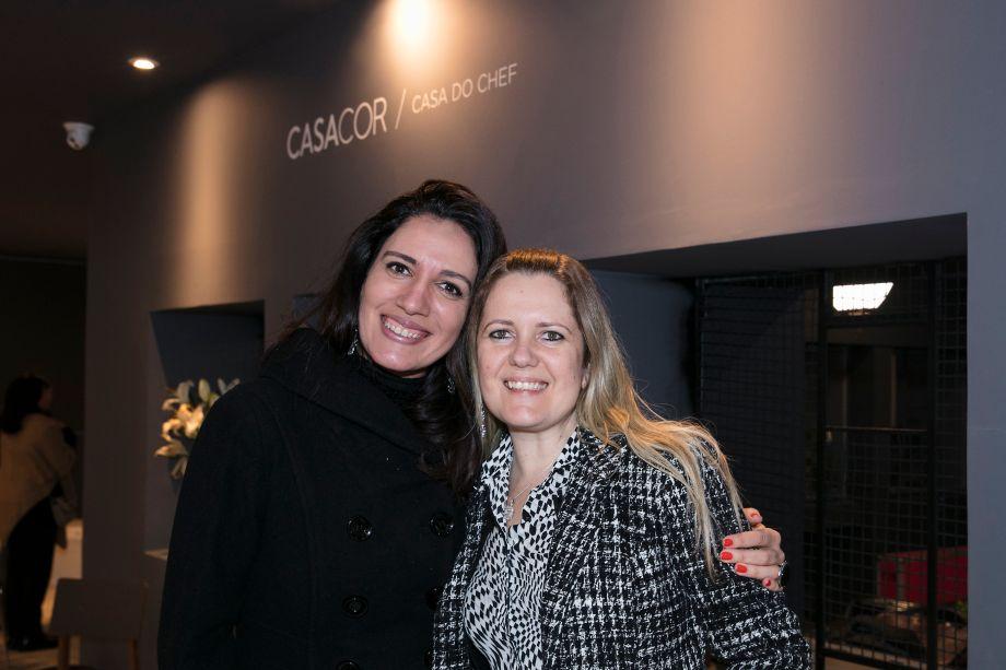 Viviane Lusvarghi e Renata Von Ancken