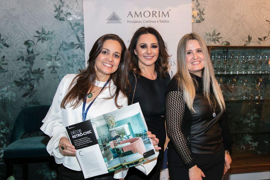 Angélica Alves, Patrízia Genovese e Luciana Bicheri