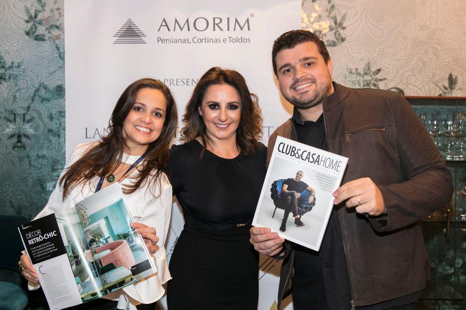 Angélica Alves, Patrízia Genovese e Thiago Sodré