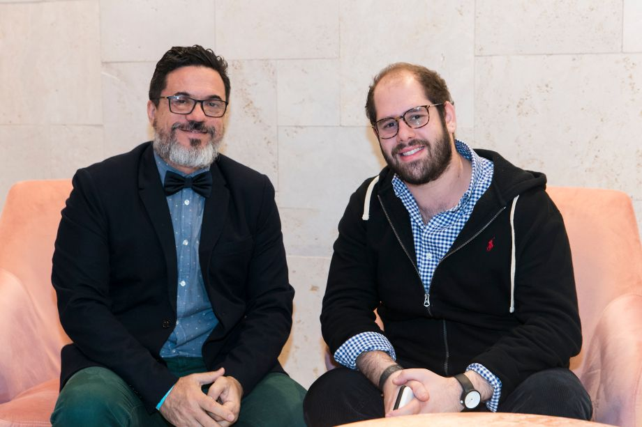 Beto Cocenza e Michel Wajs