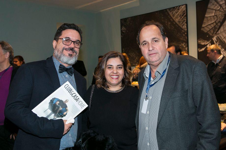 Beto Cocenza, Shis Blanco e Evandro Sodré