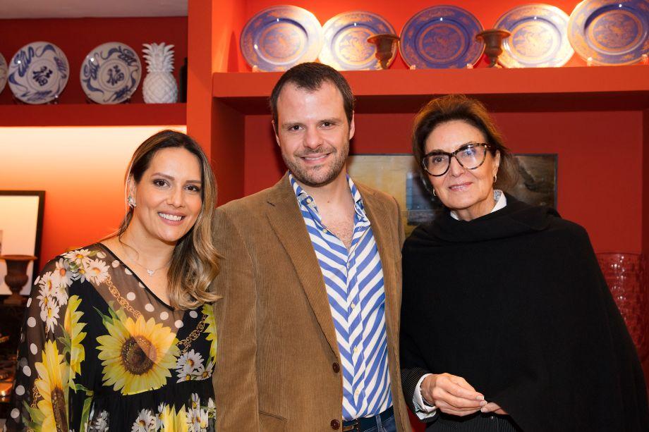 Clariça Lima, Luiz Otavio Debeus e Cris Ferraz