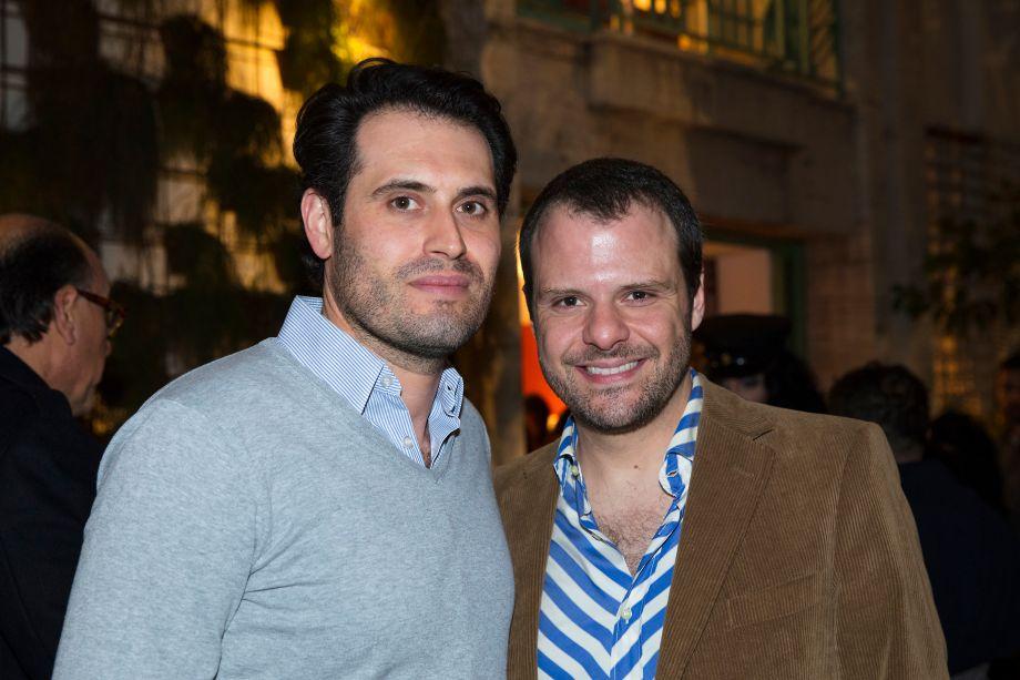 Maicon Antoniolli e Luiz Otavio Debeus