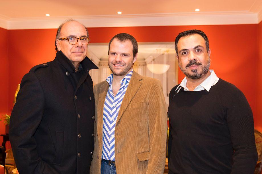 Arnaldo Danemberg, Luiz Otavio Debeus e Marcelo Brito