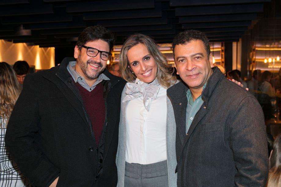 Darlan Firmato, Alessandra Castro e Pedro Ariel Santana