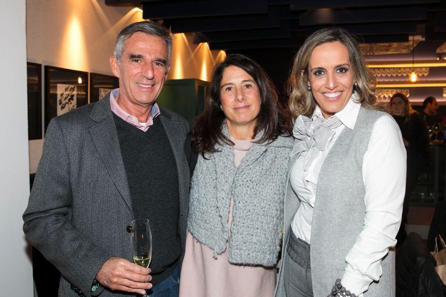 Mauro Ferraz, Cristina Ferraz e Alessandra Castro