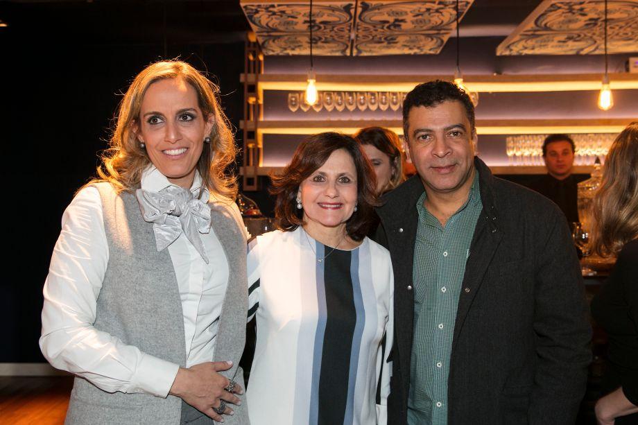 Alessandra Castro, Vera Helena Mirandez e Pedro Ariel Santana