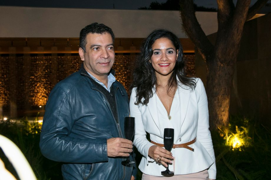 Pedro Ariel Santana e Carolina Boiane