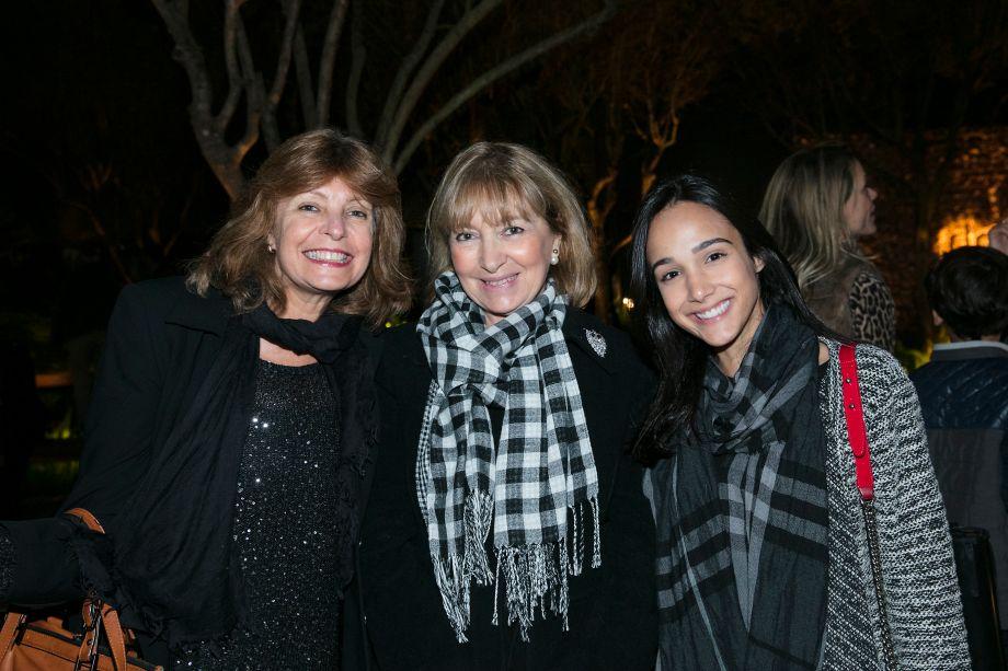 Idalha Daudt, Lucy Amicon e Vanessa Ireno