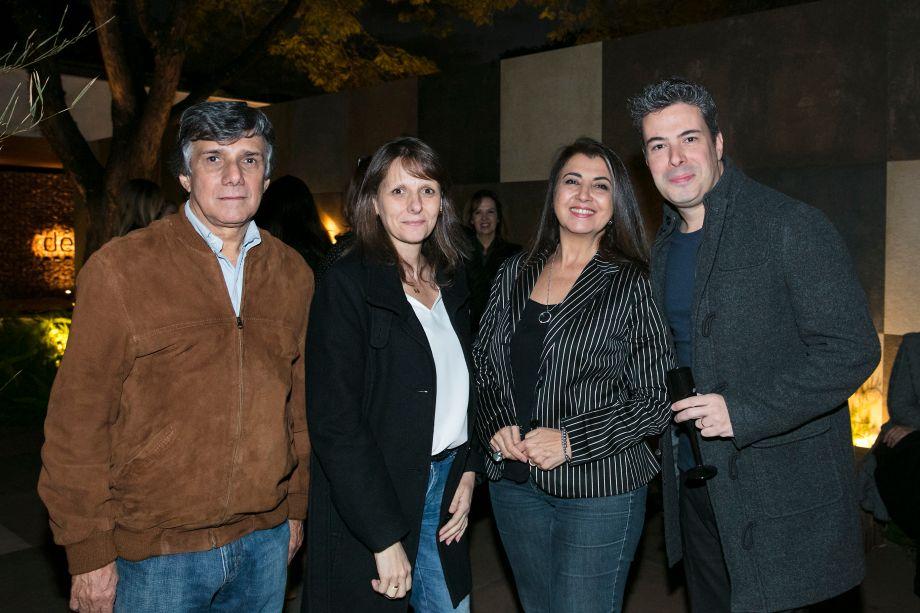Wilson Veiga, Sandra Junqueira, Bianca Morguinato e Luiz Norman