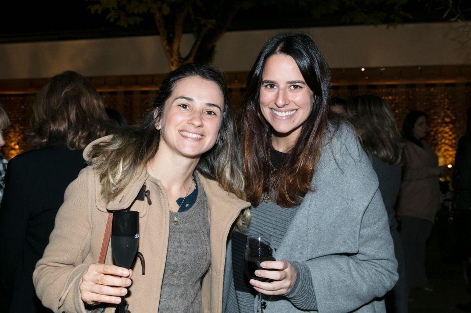 Mariana Lebrao Cassins e Claudia Moubarak