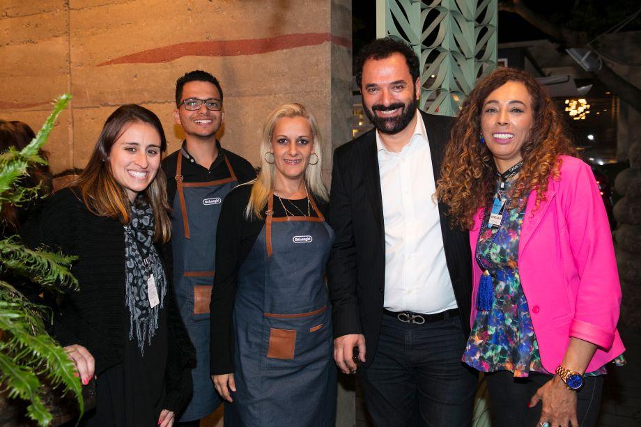 Juliana Julio, Danilo Mezzetti, Marcela Landi, Rui Dzialoschinsky e Ivone Gaia