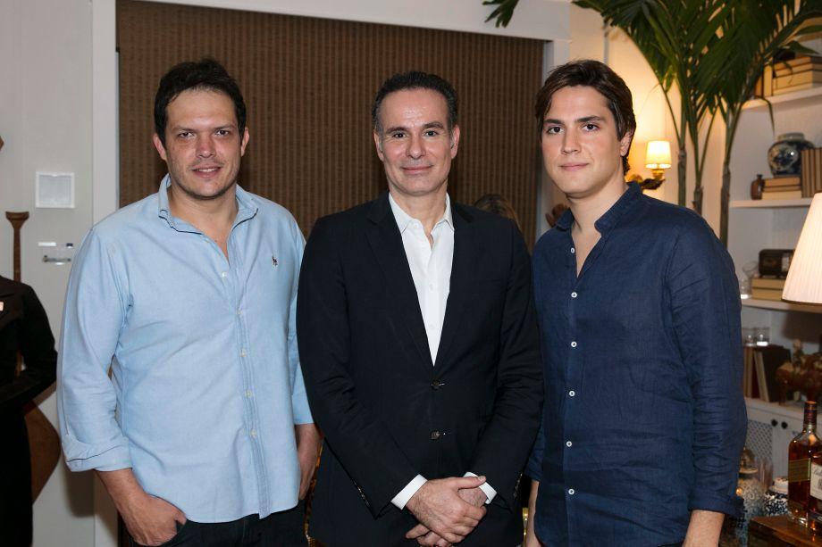 Gustavo Paschoalim, Marcos Rezende e Paulo Azevedo