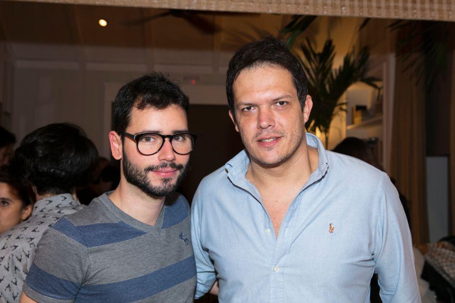 Bruno Gap e Gustavo Paschoalim