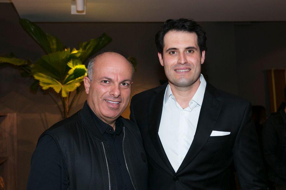 Ali Majzoub e Maicon Antoniolli