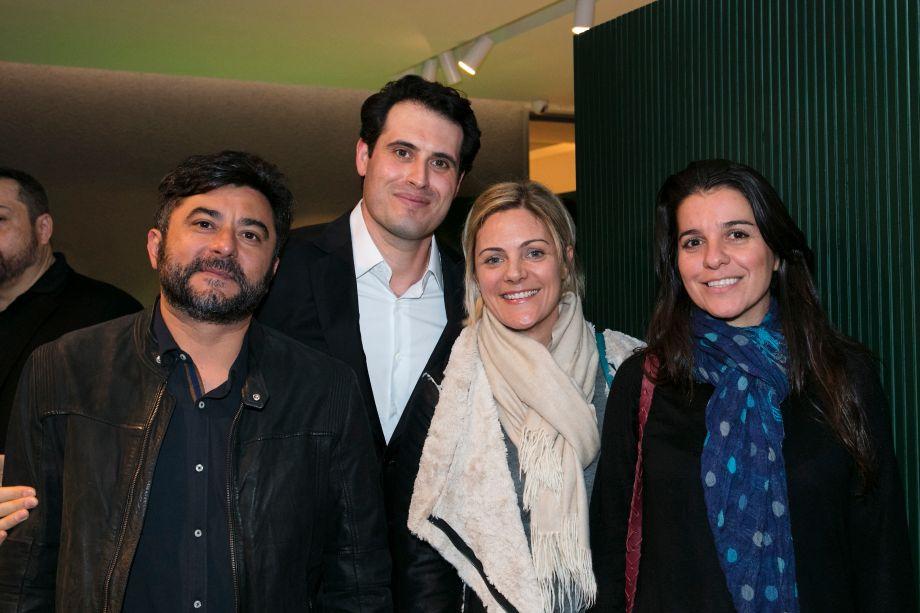 Marco Antonio, Majorie Bazano e Nilza Tomeh