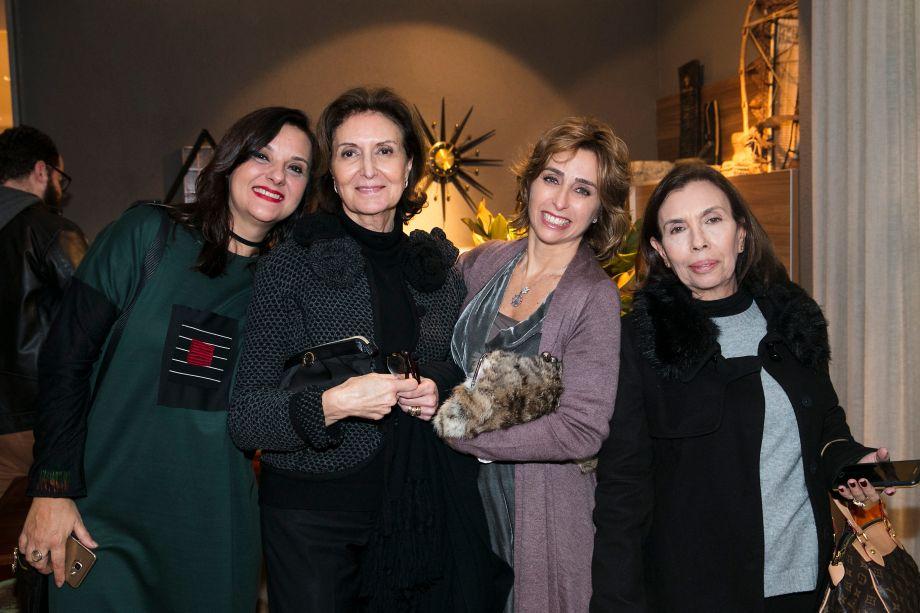 Silvia Peskir, Francesca Auzati, Cristina Ferraz e Eliana Szrajer