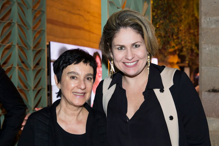 Livia Pedreira e Marília Pellegrini