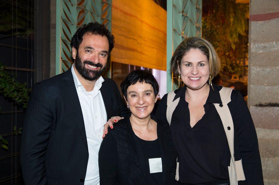 Rui Dzialoschinsky, Livia Pedreira e Marília Pellegrini
