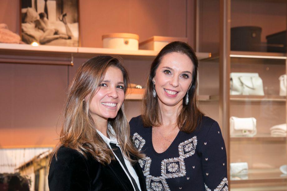 Aline Araújo e Esther Schattan