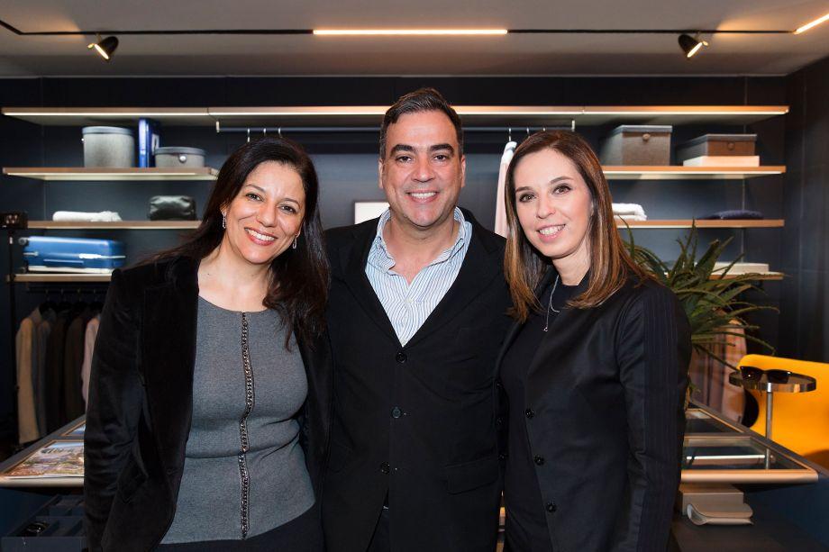 Cleide Gomes, Cadu Torres e Esther Schattan