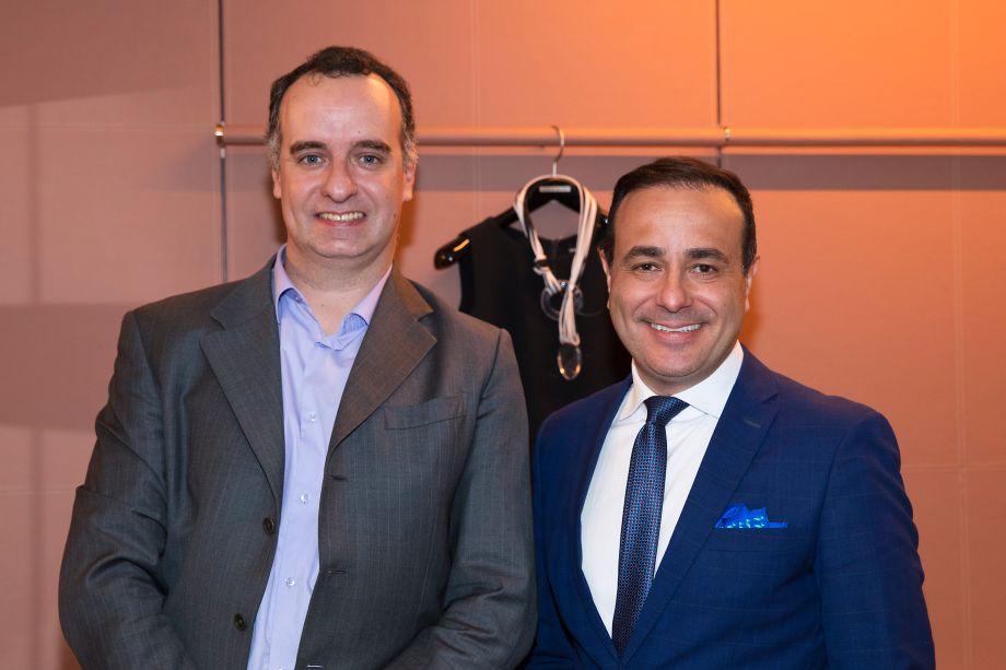 Daniel Romagnolo e Sandro Augusto