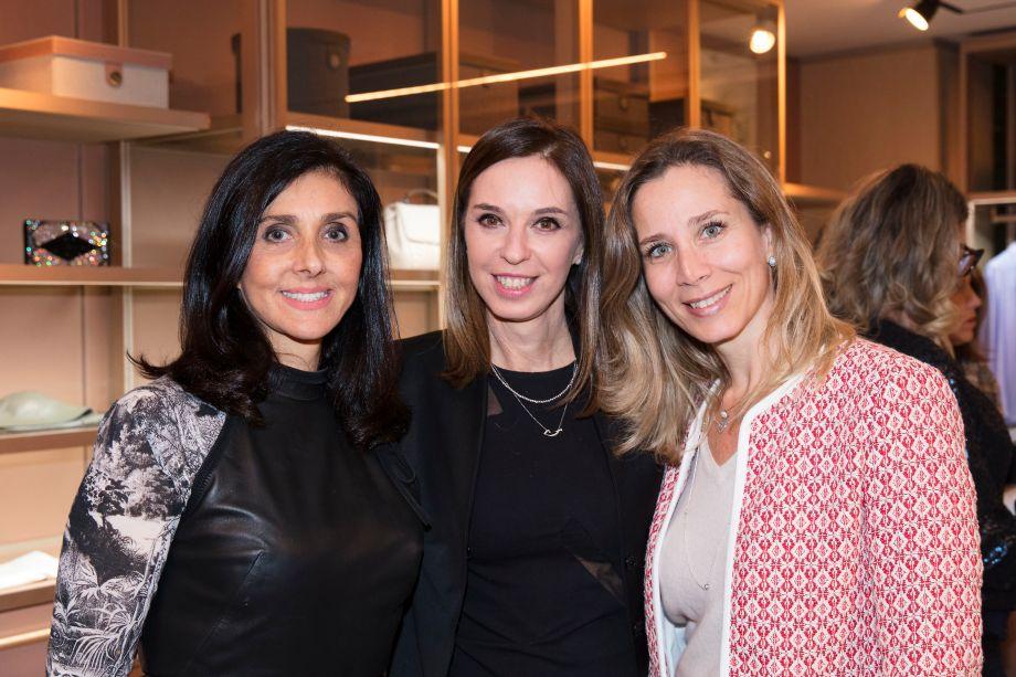 Denise Barreto, Esther Schattan e Patricia Penna