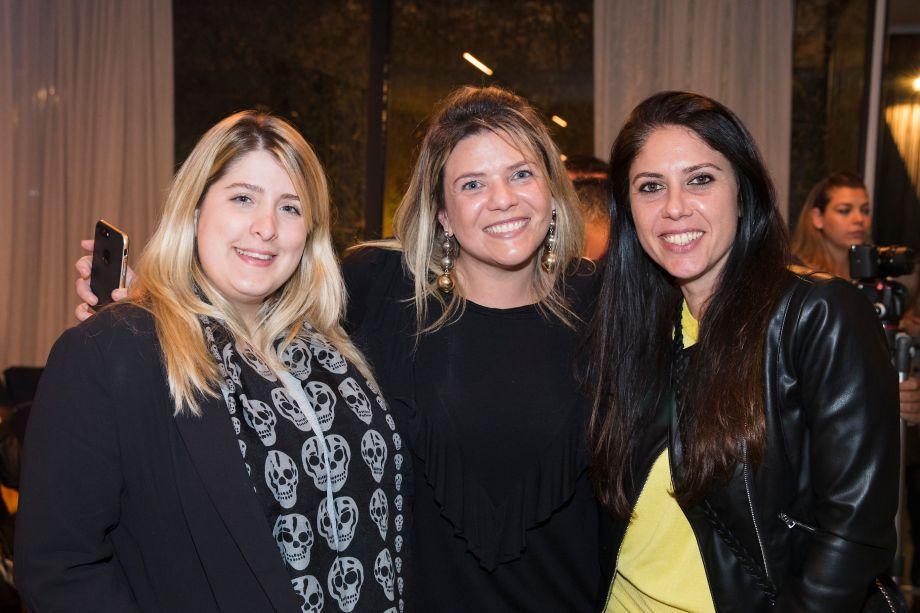 Jéssica Adam, Giselle Martos e Mariana Orsi