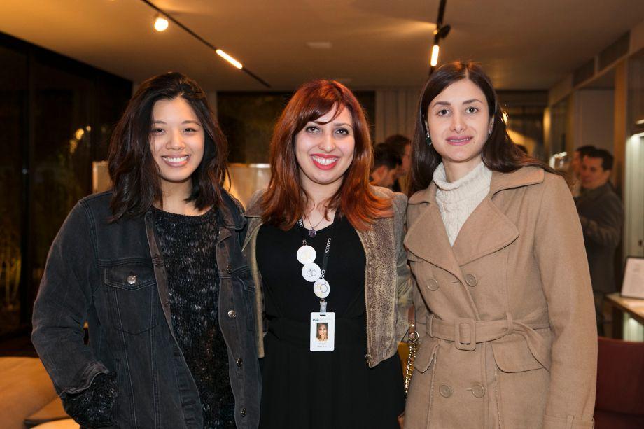 Andreia Lee, Indrid Silva e Daniela Bernardes