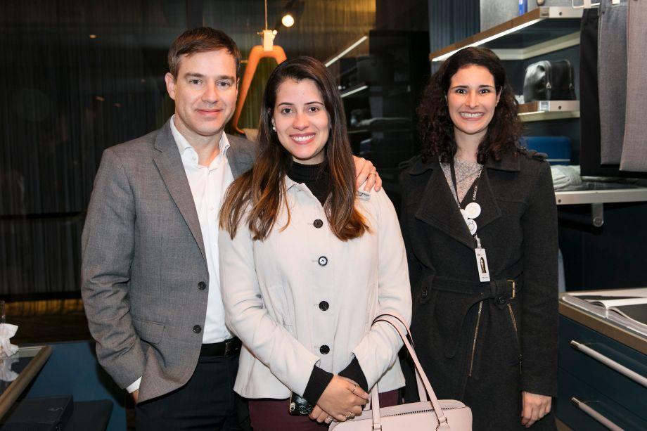 Gracio Matheus, Ligia Fernandes e Gabrieli Cardoso