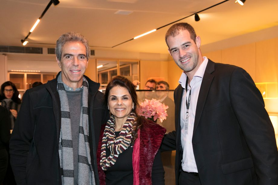 Wilson Rodrigues, Marlene Lucio e Paulo Meirelles