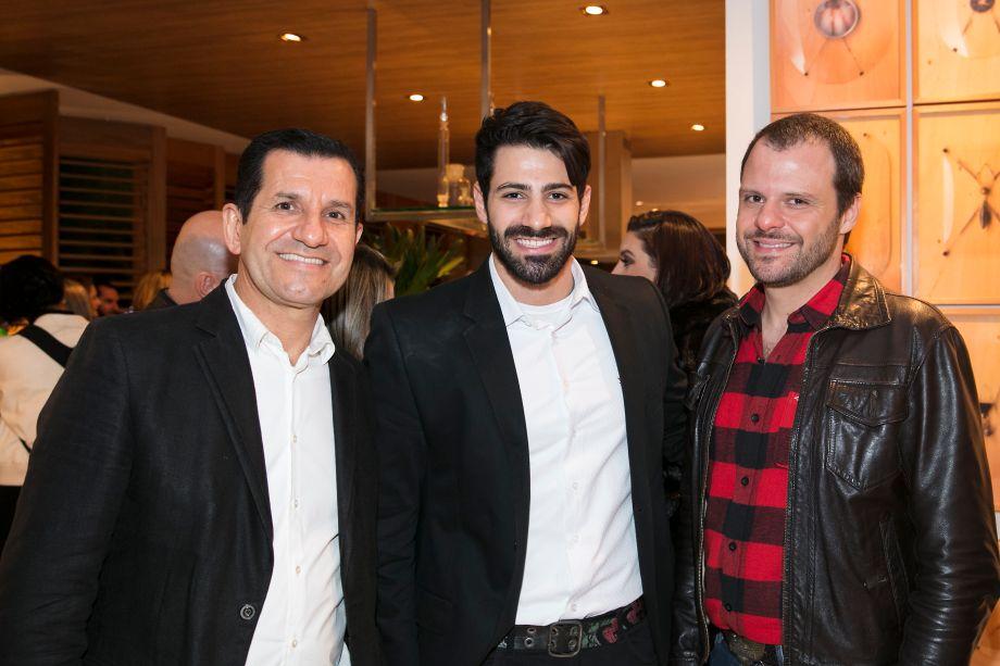 Raniere Prado, Ranier Gulusian e Octavio Debeus