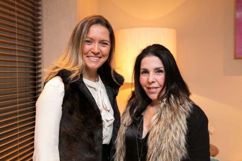 Elenice Cardoso e Paola Ribeiro