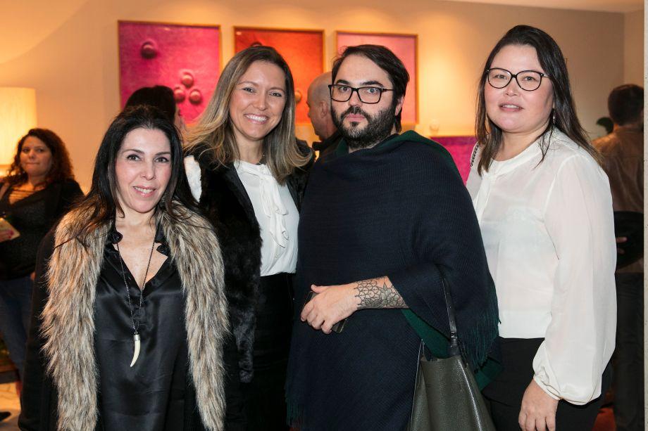 Paola Ribeiro, Elenice Cardoso, Audi Flosi e Paloma Yamagata