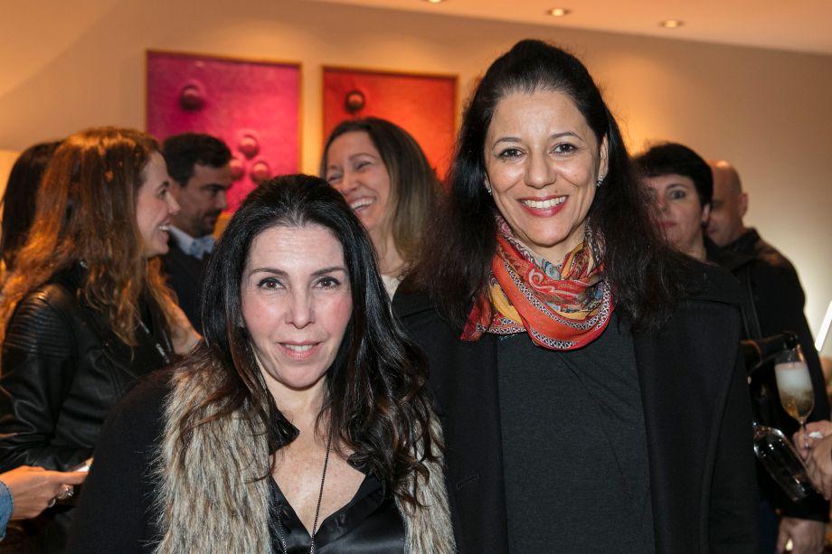 Paola Ribeiro e Cleide Gomes
