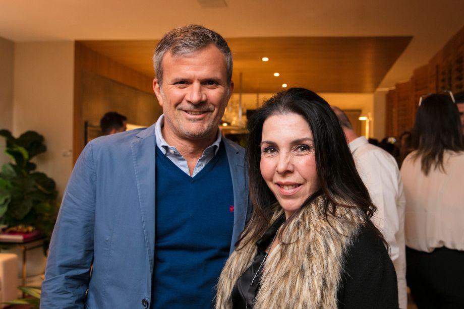 David Benavente e Paola Ribeiro