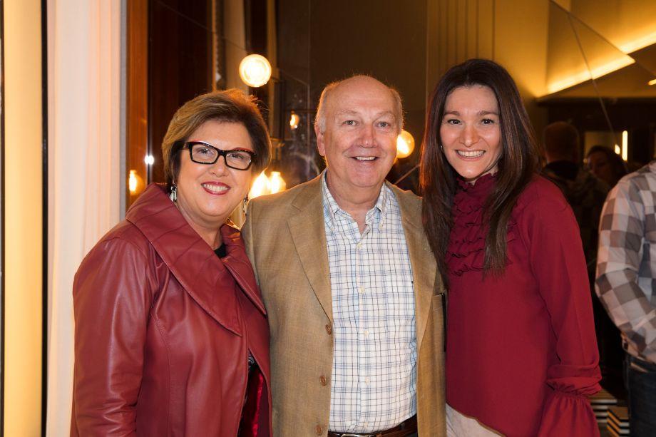Lucia Pasquini, Valter Pasquini e Patricia Pasquini