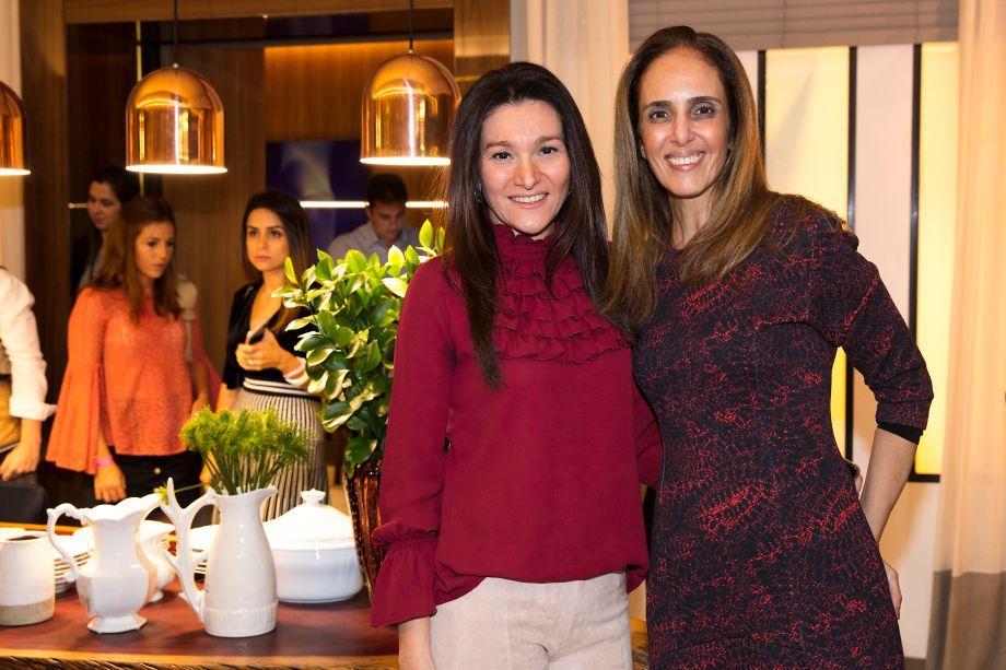 Patricia Pasquini e Carla Mollo