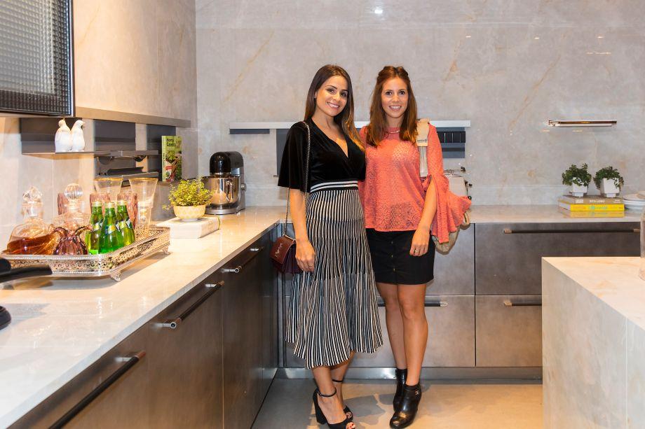 Shine Braga e Ana Lembo