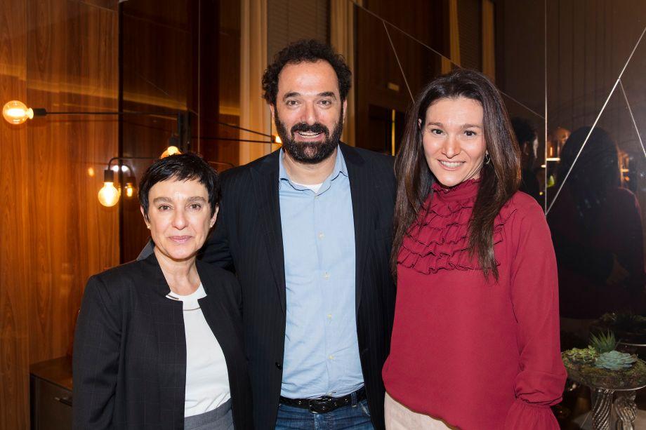 Livia Pedreira, Rui Dzialoschinsky e Patricia Pasquini