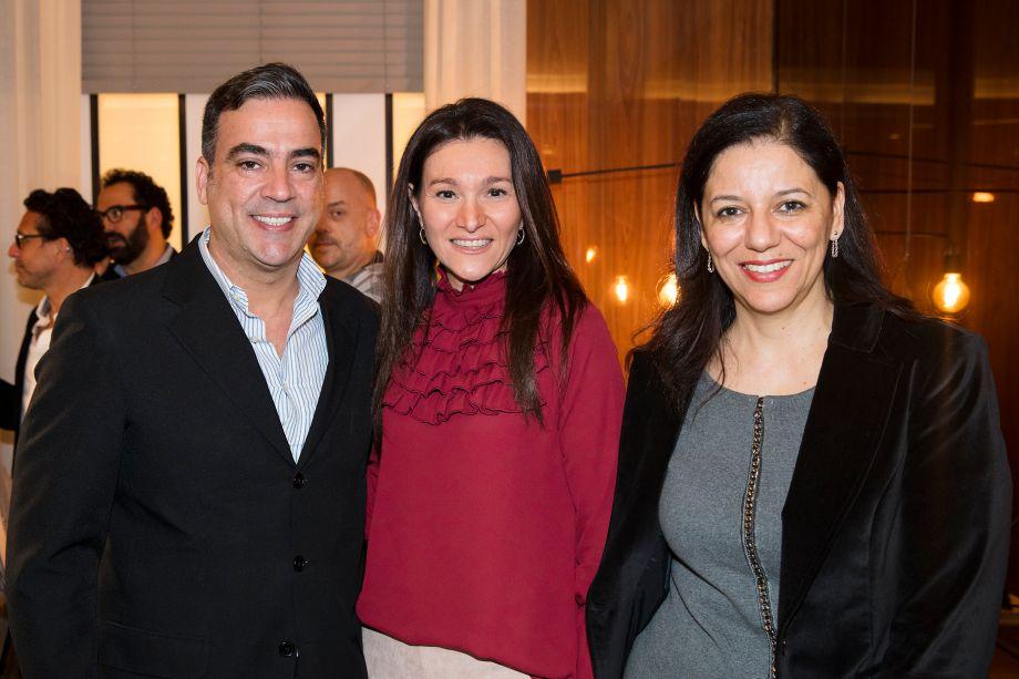 Cadu Torres, Patricia Pasquini e Cleide Gomes