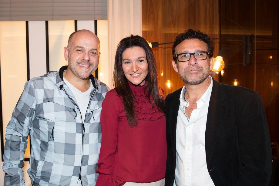 Tozzi, Patricia Pasquini e Amauri