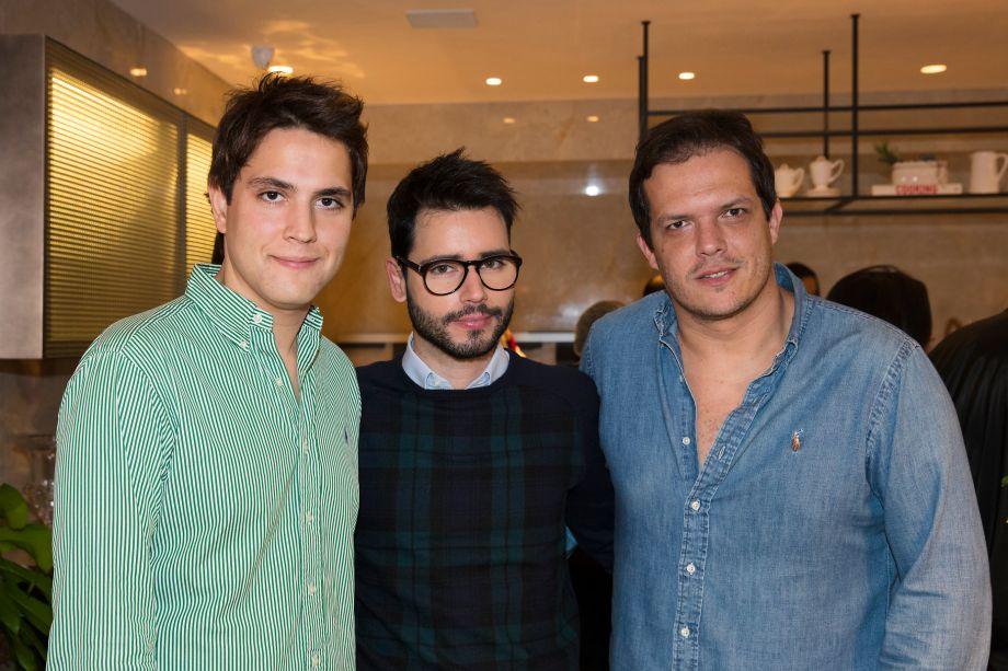 Paulo Azevedo, Bruno Gap e Gustavo Paschoalim