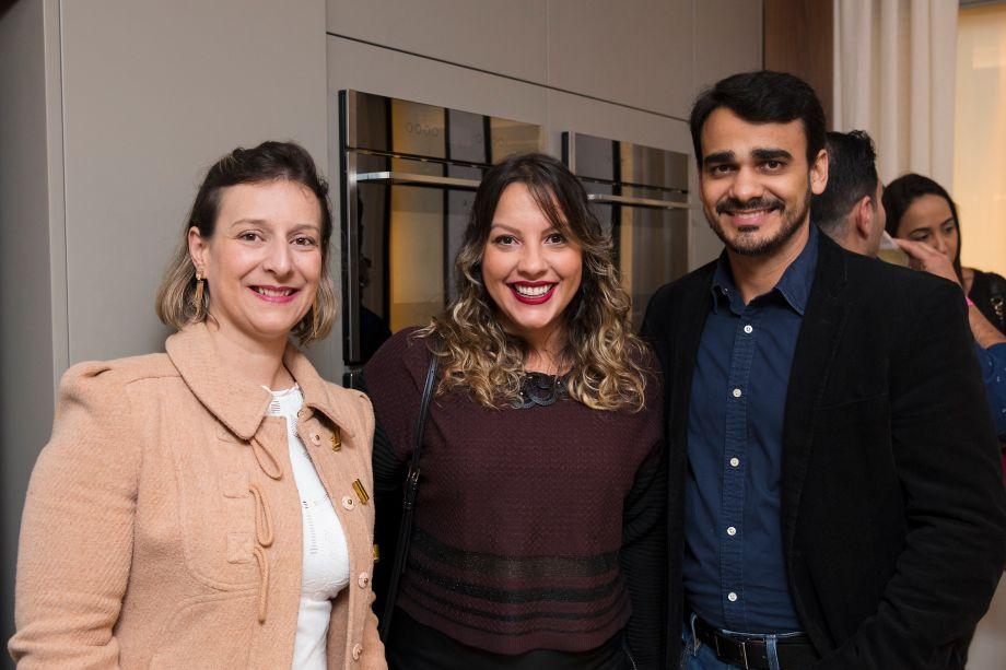 Viviane Mussato, Alessandra Spadaro e Matheus Menezes