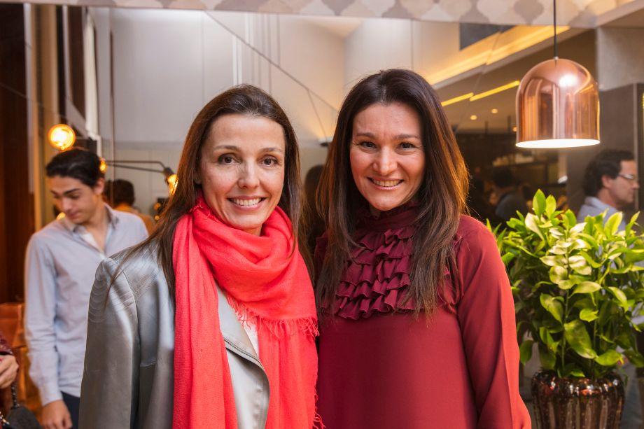 Cris Bava e Patricia Pasquini