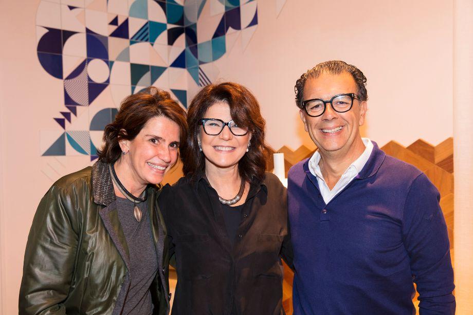 Renata Amaral, Paula Neder e Fernando Albuquerque